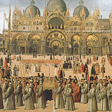 Procession in St Mark's Square